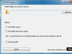 NTFS Access Screenshot 1